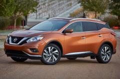 2016 Nissan Murano exterior