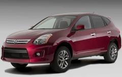 2010 Nissan Rogue exterior