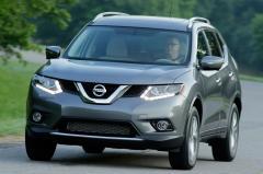 2016 Nissan Rogue exterior