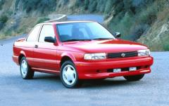 1992 Nissan Sentra exterior