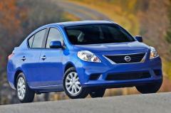 2014 Nissan Versa exterior