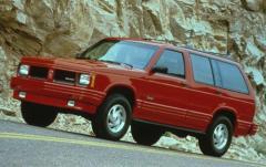 1992 Oldsmobile Bravada exterior