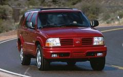 2000 Oldsmobile Bravada exterior