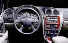 2002 Oldsmobile Bravada interior