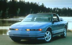 1993 Oldsmobile Cutlass Supreme exterior