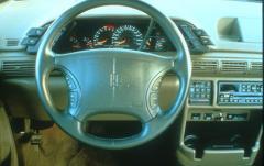 1991 Oldsmobile Silhouette interior