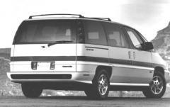 1991 Oldsmobile Silhouette exterior