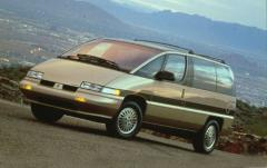 1992 Oldsmobile Silhouette exterior