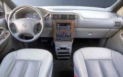 2002 Oldsmobile Silhouette interior