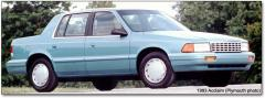1993 Plymouth Acclaim Photo 1