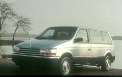 1991 Plymouth Grand Voyager exterior