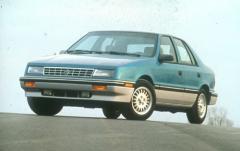 1991 Plymouth Sundance exterior