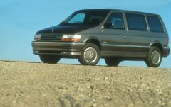 1991 Plymouth Voyager exterior