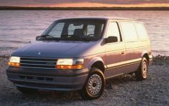 1994 Plymouth Voyager exterior