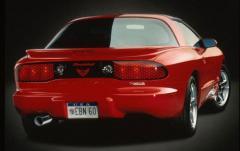 2001 Pontiac Firebird exterior