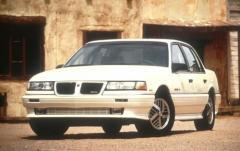 1991 Pontiac Grand AM exterior