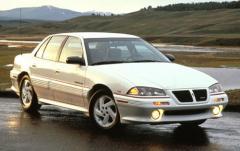 1995 Pontiac Grand AM exterior
