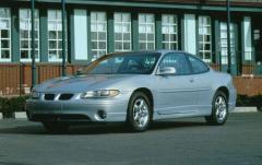 1999 Pontiac Grand Prix exterior