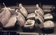 2001 Pontiac Montana interior
