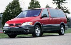 2003 Pontiac Montana exterior