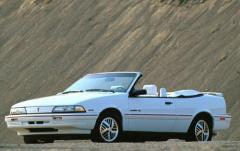 1992 Pontiac Sunbird exterior