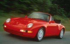 1995 Porsche 911 exterior