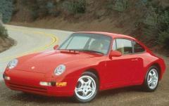 1997 Porsche 911 exterior