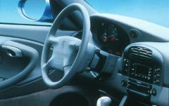 1999 Porsche 911 interior