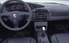 2000 Porsche 911 interior