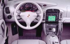 2002 Porsche 911 interior