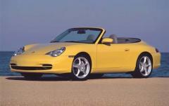 2002 Porsche 911 exterior