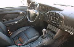 2005 Porsche 911 interior