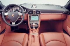 2007 Porsche 911 interior