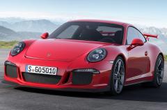 2014 Porsche 911 exterior