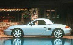 1997 Porsche Boxster exterior
