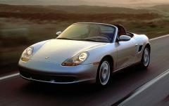 2000 Porsche Boxster exterior
