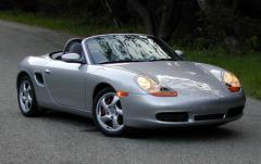 2001 Porsche Boxster exterior