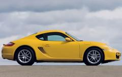 2008 Porsche Cayman exterior