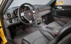 2008 Porsche Cayman interior