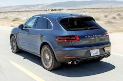 2016 Porsche Macan exterior