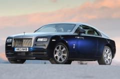 2014 Rolls-Royce Wraith exterior