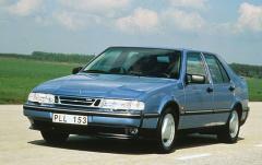 1995 Saab 9000 exterior