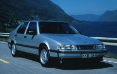 1998 Saab 9000 exterior
