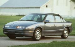 1991 Saturn SC exterior