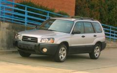 2004 Subaru Forester exterior