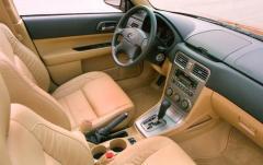 2004 Subaru Forester interior