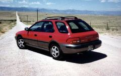 1993 Subaru Impreza exterior