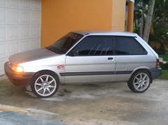 1990 Subaru Justy Photo 1