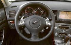 2008 Subaru Legacy interior