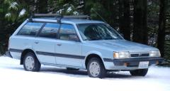 1991 Subaru Loyale Photo 4